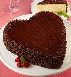 Junior's® Heart-Shaped Cheesecake