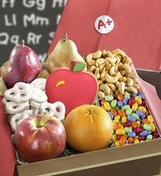 Back to School Fruit  Sweets Gift Box