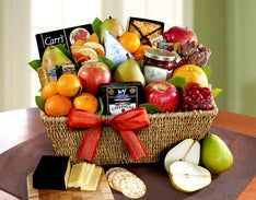 Sutter Creek Fruit & Gourmet Sweets Gift Basket