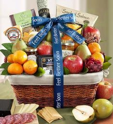 Under the Weather Get Well Gift Basket