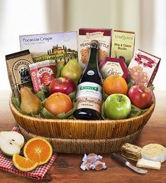 Farmstand Finest Deluxe Fruit Gift Basket