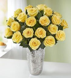Yellow Roses, 12-24 Stems