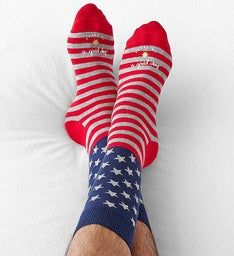 Good Day™ Patriotic Socks for Men