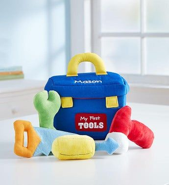 Personalized GUND® Toolbox Playset