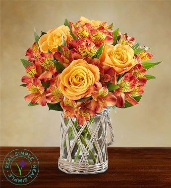 Autumn Sunrise Bouquet by Real Simple®