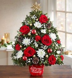 Merry Little Christmas™ Holiday Flower Tree®