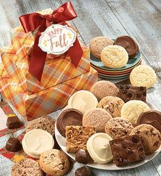 Sugar Free Autumn Gift Tower