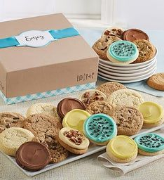Cheryl39s Cookie Gift Boxes with Message Tag - 12 Cookies