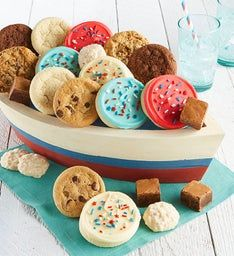 Sweet Sailing Cookie Boat
