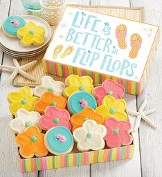 Flip Flop Gift Box – Cut-outs