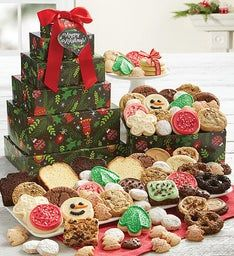 Warmest Holiday Wishes VIP Gift Tower