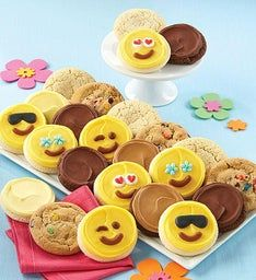 Buttercream Frosted Emoji Cookie Assortment