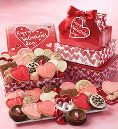 Valentine's Day Gift Tin Tower