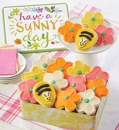Have a Sunny Day Gift Tin - Cut-out Assortment