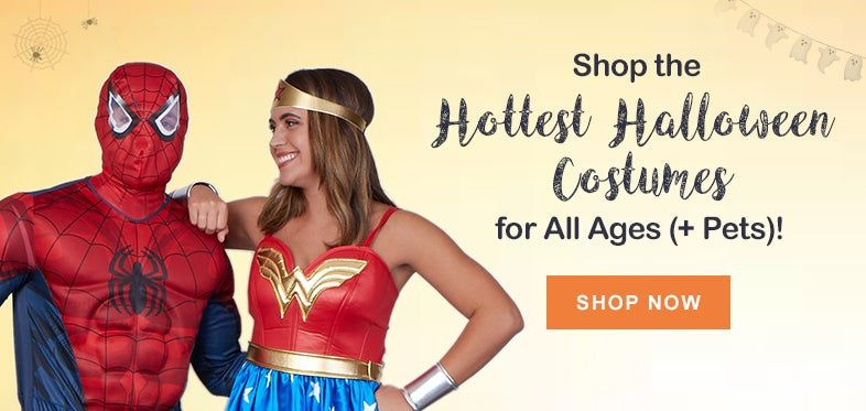 Shop the Hottest Halloween Costumes for All Ages (+ Pets)!