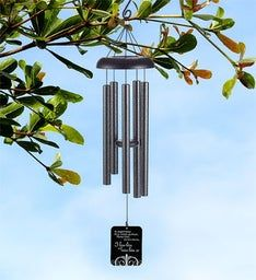 Miss Him So Sympathy Wind Chime
