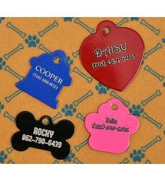 Personalized Laserable Dog Tag