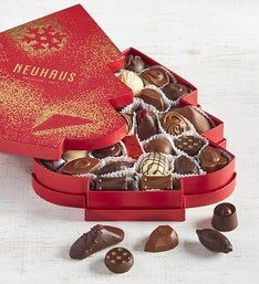 Neuhaus Holiday 2018 Belgian Chocolate Tree Box