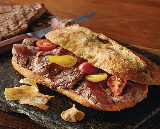 Sirloin Strip Slices - USDA Prime