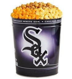 Chicago White Sox 3-Flavor Popcorn Tins
