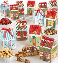 Winter Village Treat Boxes