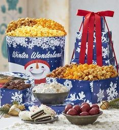 Winter Wonderland 5-Tier Tower & Tin