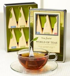 Tea Forte® World of Teas Gift Tin