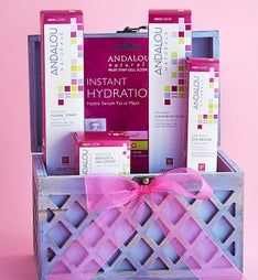 Andalou 1000 Roses® Rejuvenating Spa Basket
