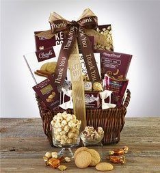 Thank You Deluxe Balsam Gift Basket