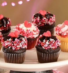 Little Whisk Valentine Mini Cupcakes