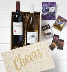 Cheers! Wine & Chocolates Crate