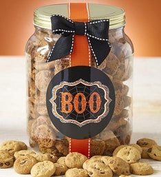 Happy Halloween! Chocolate Chip Cookie Jar