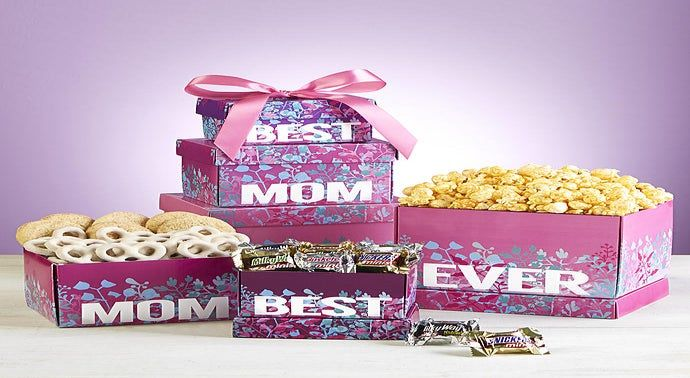 Best Mom Ever Sweets  Treats Tower