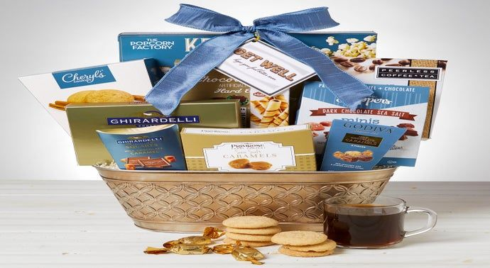 Get Well Soon Healing Thoughts Gift Basket