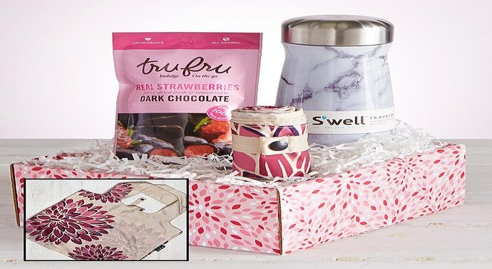 Swell Traveler Pretty Packable Bag  Sweets Gift
