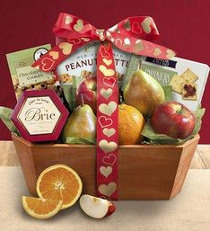 Love is Fresh From The Orchard Fruit Gift Basket