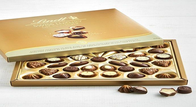 Lindt 40pc Swiss Luxury Collection Chocolates