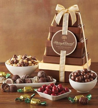 Harry and David® Tower of Chocolates Gift