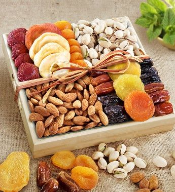 A Spirit of Peace Fruit & Nut Crate