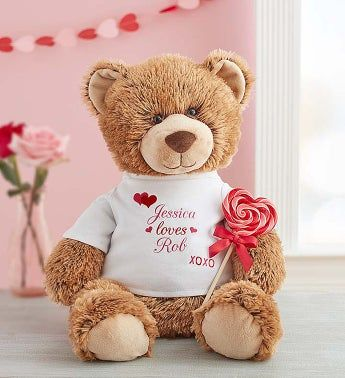 Personalized Tommy Teddy XOXO