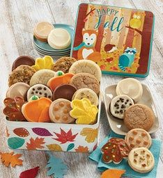 Autumn Greeting Gift Tin-Create Your Own Assortment