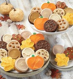 Fall Frosted Cookies