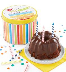 Miss Grace Chocolate Mini Cake and Gift Tin