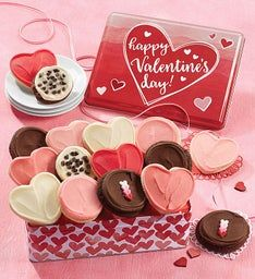 Happy Valentine Gift Tin - Frosted Assortment