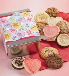 Candy Hearts Gift Tin