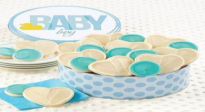 Baby Boy Ducky Gift Tin
