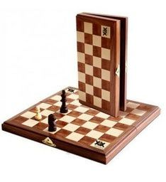 Personalized Travel Magnetic Folding Chess Set