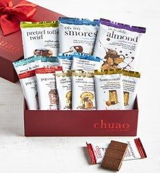 Chuao Deluxe Artisan Chocolate Bar 15 Pc Gift Box