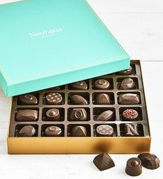 Neuhaus All Dark Assorted Belgian Chocolates 25 pc