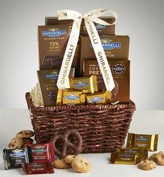 Best of Ghirardelli Gift Basket